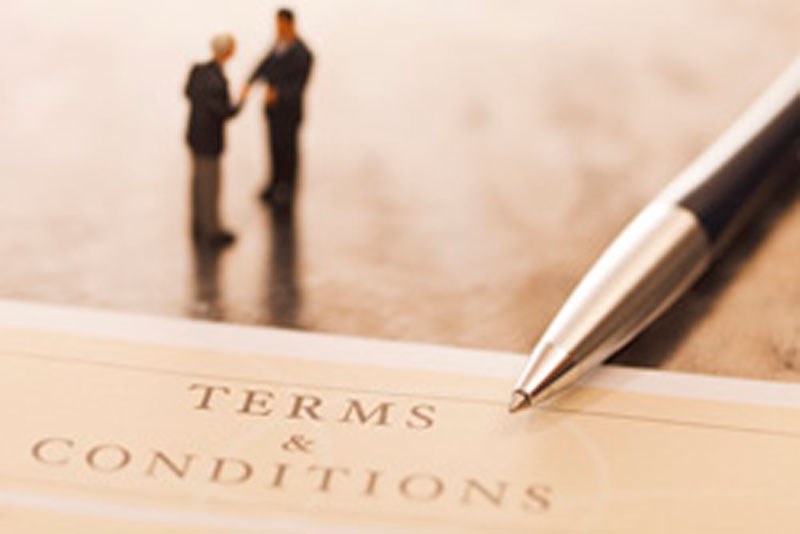 Terms and Condition of Sale