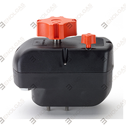 ON/OFF ACTUATOR FOR USE WITH ISO TOP MOUNT VALVES ONLY.